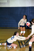 Volleyball vs Point University 9-18-12