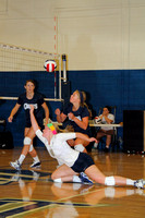 Volleyball vs Catawba Valley Community College (Scrimmage) 08-16-14