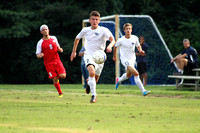Men's Soccer vs Belmont-Abbey 8-23-13